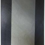 """Rosanna Rossi """"Senza titolo"""" serie """"Forma sonata"""", olio e acrilico su tela, 200x150 cm, 2008"""