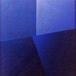 """Senza titolo"""", acrilico e olio su tela, 100x100 cm, 1980"""